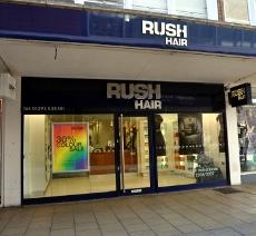 Rush hairdressers, Crawley