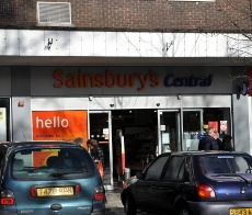 Sainsbury's, Crawley town centre