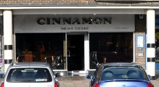 Cinnamon restaurant, Crawley