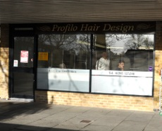 Profilo hairdressers, Furnace Green