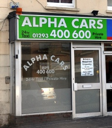 Alpha Cars, Crawley High Street