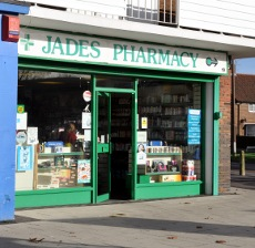 Jades Pharmacy, Northgate, Crawley