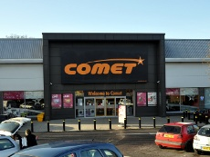 Exterior of Comet, County Oak Retail Park