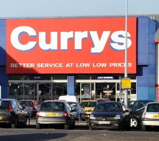 Exterior of Curry's, County Oak Retail Park