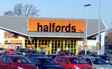 Exterior of Halfords, County Oak Retail Park