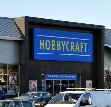 Exterior of Hobbycraft, County Oak Retail Park