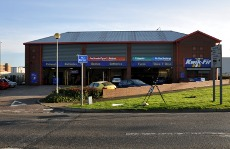 Exterior of Kwik-Fit, County Oak, Crawley