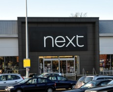 Exterior of Next, County Oak Retail Park