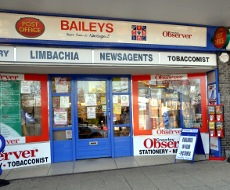 Baileys newsagent, Pound Hill, Crawley