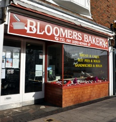 Bloomers bakery, Northgate, Crawley