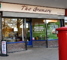 Exterior of the Granary bakery, Pound Hill, Crawley
