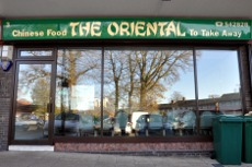 The Oriental take-away, Pound Hill, Crawley