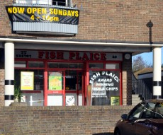 Fish Plaice, Tilgate, Crawley