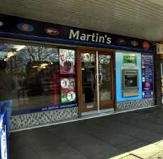 Martin's newsagent, Furnace Green, Crawley