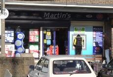 Martin's newsagent, Tilgate, Crawley