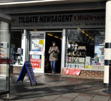 Tilgate newsagent, Crawley
