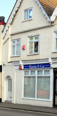 Exterior of Harris and Co., Crawley