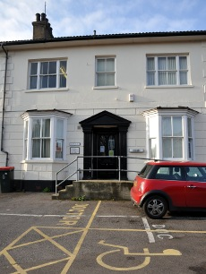 Crow Place GP surgery, Crawley