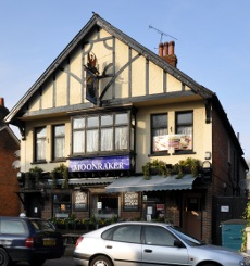 The Moonraker pub, Three Bridges