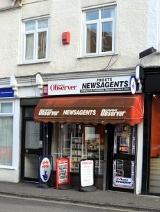 Frosts newsagents, Crawley