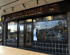 Ocean Trawler chip shop, Crawley