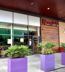Nando's restaurant, Crawley Leisure Park