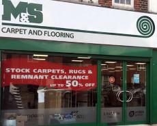 M&S Carpet and Flooring shop front