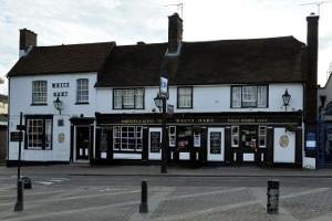 White Hart pub in Crawley