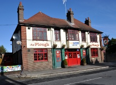 The Plough pub in Three Bridges
