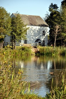 Ifield Watermill and pond