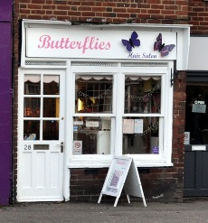 Butterflies Hair Salon, West Green