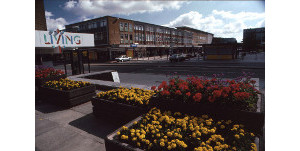 Queen's Square, Crawley, in about 1990