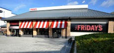 TGI Friday's restaurant, Crawley Leisure Park