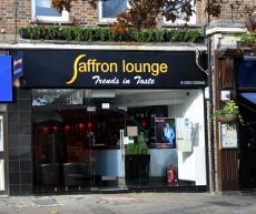 Saffron Lounge restaurant, Crawley