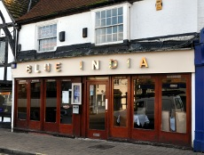 Blue India restaurant, Crawley