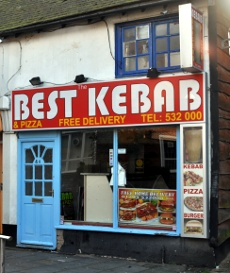 Best Kebab and Pizza, Crawley